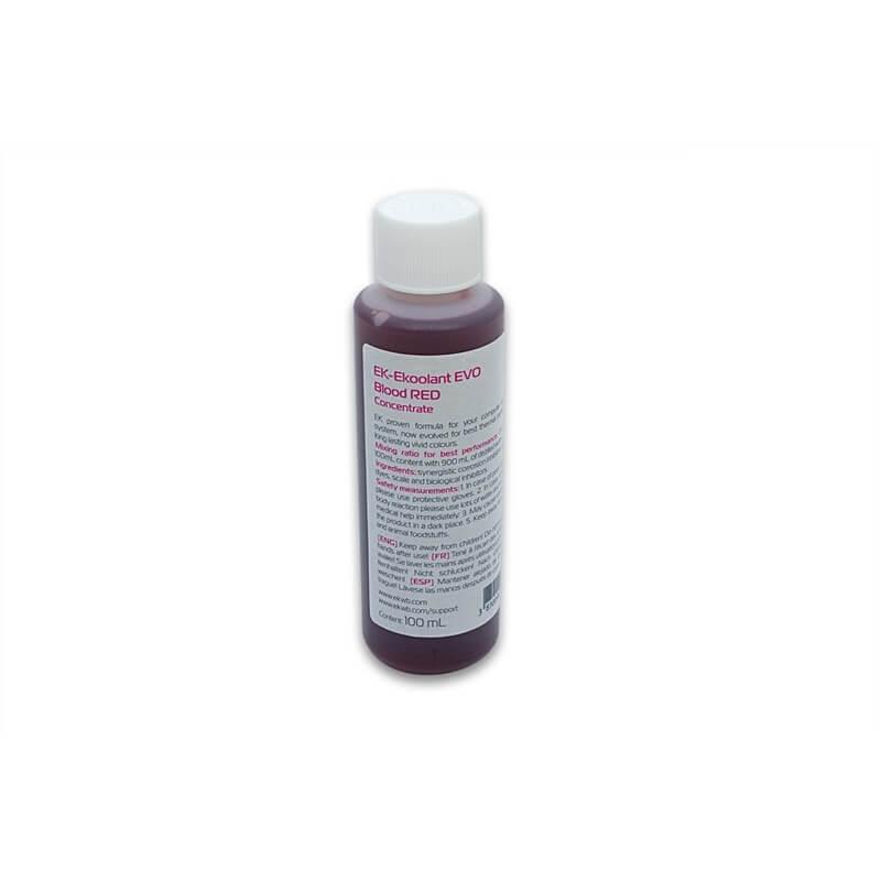 Refrigerante concentrado 100mL EKWB EVO Rojo Sangre
