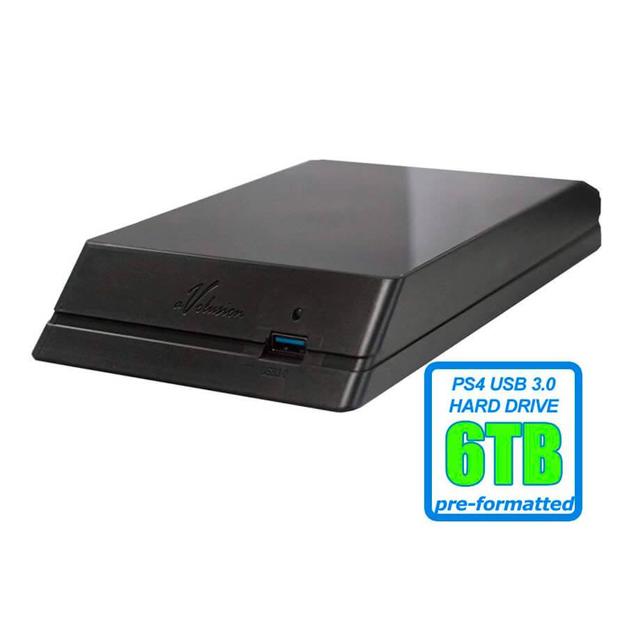 Disco Duro Portátil Avolusion 6TB PS4 WL6000GSA6457P