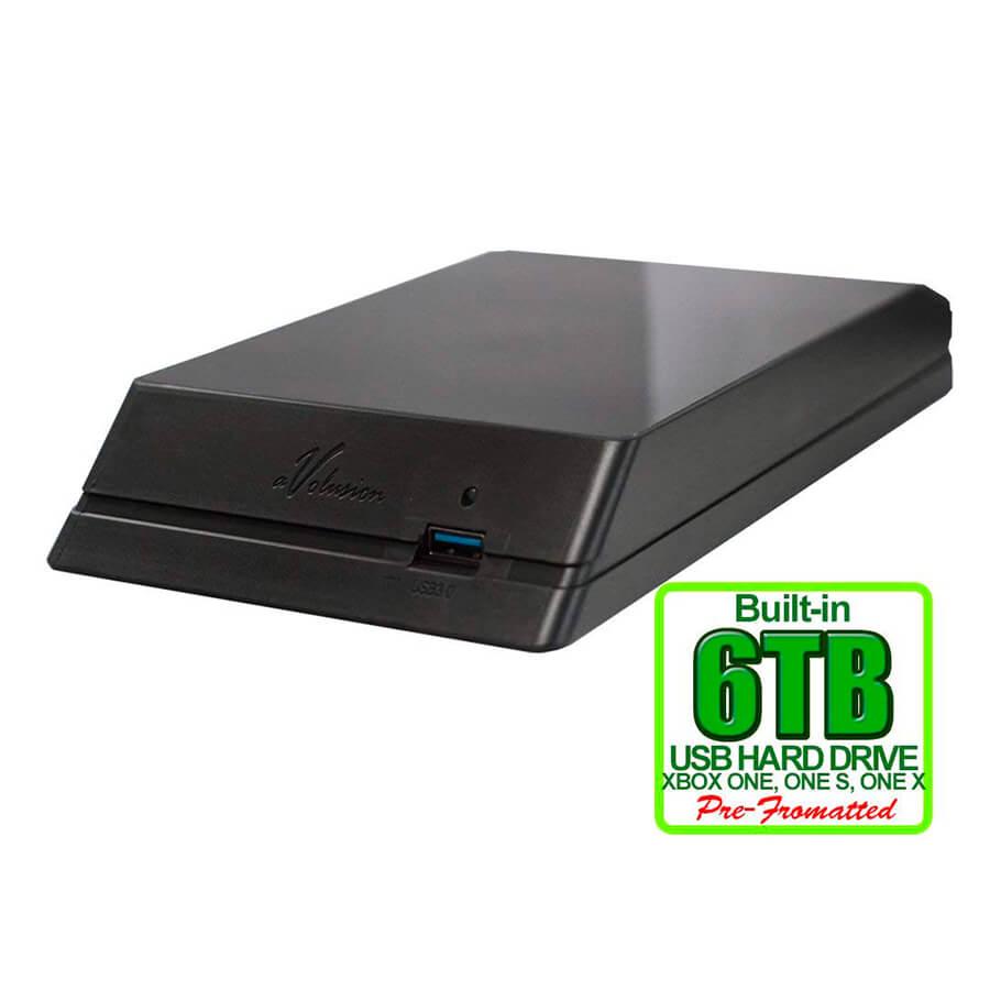 Disco Duro Portátil Avolusion 6TB Xbox One HDDGU3-6TBX