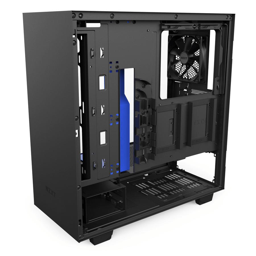 Gabinete NZXT H500 con Color