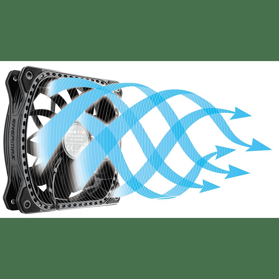 Ventiladores Enermax SquARGB 3 Fan pack
